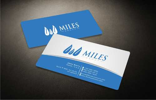 Miles Group Business Cards and Stationery  Draft # 242 by Dawson