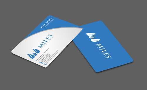 Miles Group Business Cards and Stationery  Draft # 244 by Dawson