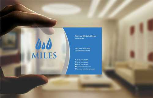 Miles Group Business Cards and Stationery  Draft # 245 by Dawson