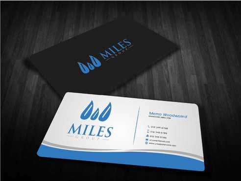 Miles Group Business Cards and Stationery  Draft # 249 by Dawson
