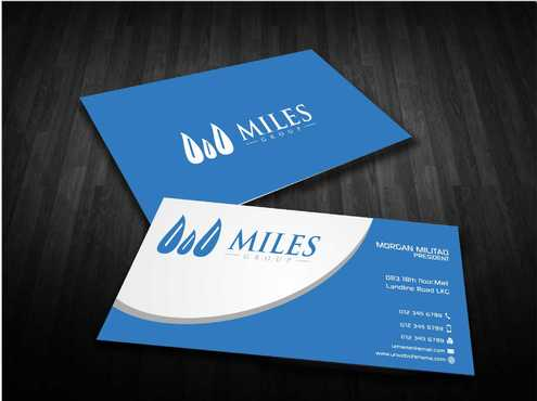 Miles Group Business Cards and Stationery  Draft # 251 by Dawson