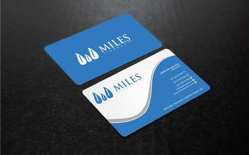 Miles Group Business Cards and Stationery  Draft # 253 by Dawson