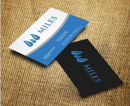 Miles Group Business Cards and Stationery  Draft # 255 by Dawson
