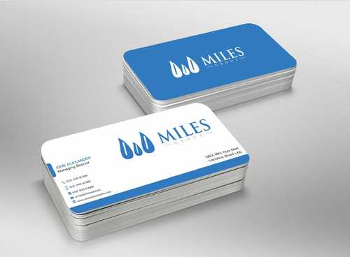 Miles Group Business Cards and Stationery  Draft # 254 by Dawson