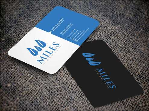 Miles Group Business Cards and Stationery  Draft # 256 by Dawson