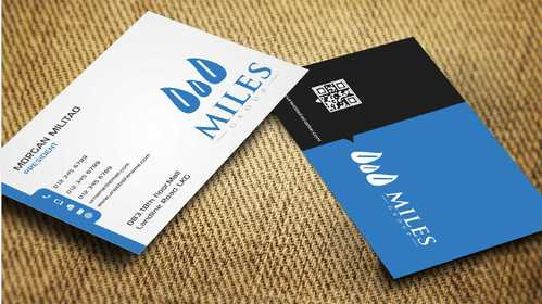 Miles Group Business Cards and Stationery  Draft # 257 by Dawson