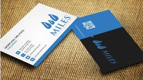 Miles Group Business Cards and Stationery  Draft # 258 by Dawson