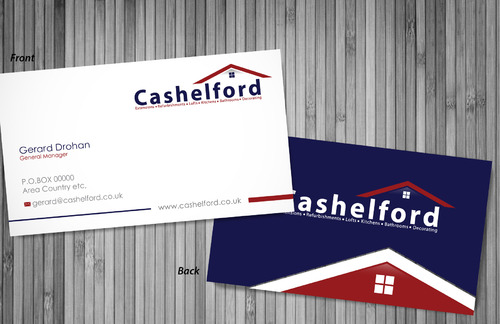cashelford ltd Business Cards and Stationery  Draft # 1 by sevensky