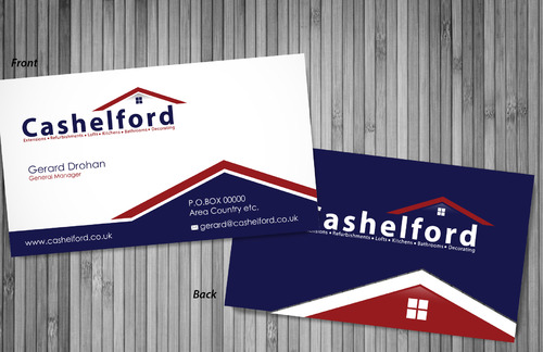 cashelford ltd Business Cards and Stationery  Draft # 10 by sevensky