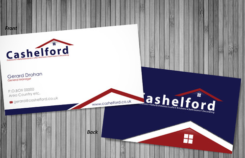cashelford ltd Business Cards and Stationery  Draft # 13 by sevensky
