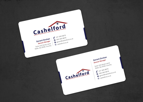 cashelford ltd Business Cards and Stationery  Draft # 44 by einsanimation