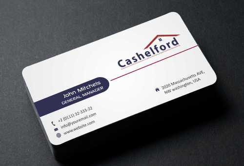 cashelford ltd Business Cards and Stationery  Draft # 209 by Dawson