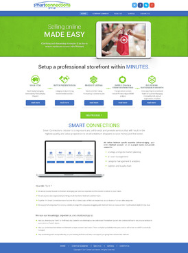 smart connections website Complete Web Design Solution  Draft # 90 by amitrai10