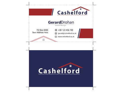 cashelford ltd Business Cards and Stationery  Draft # 218 by GoldenRatio