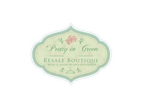 Pretty In Green Resale Boutique Marketing collateral  Draft # 55 by JoseLuiz