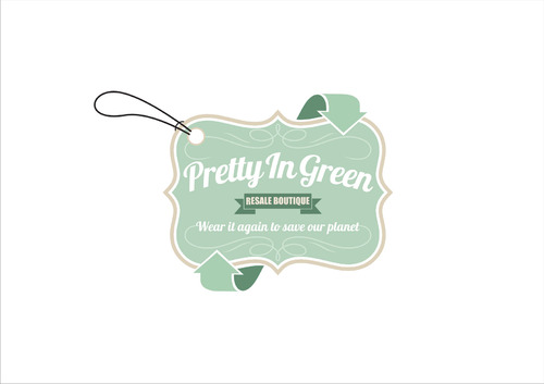 Pretty In Green Resale Boutique Marketing collateral  Draft # 61 by ARdes