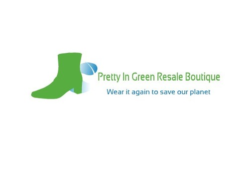 Pretty In Green Resale Boutique Marketing collateral  Draft # 71 by kiralight21