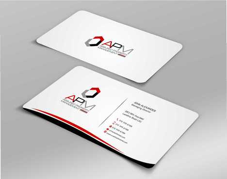 APM Construction Services, LLC (Design A) and Assured Property Management, LLC (Design B) Business Cards and Stationery  Draft # 240 by Dawson