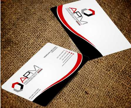 APM Construction Services, LLC (Design A) and Assured Property Management, LLC (Design B) Business Cards and Stationery  Draft # 242 by Dawson