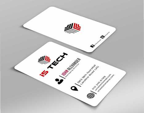 i5 TECH Business Cards and Stationery Business Cards and Stationery  Draft # 95 by Dawson