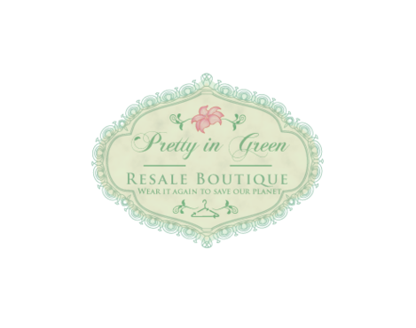 Pretty In Green Resale Boutique Marketing collateral  Draft # 79 by JoseLuiz