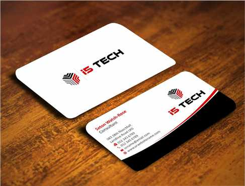 i5 TECH Business Cards and Stationery Business Cards and Stationery  Draft # 128 by Dawson