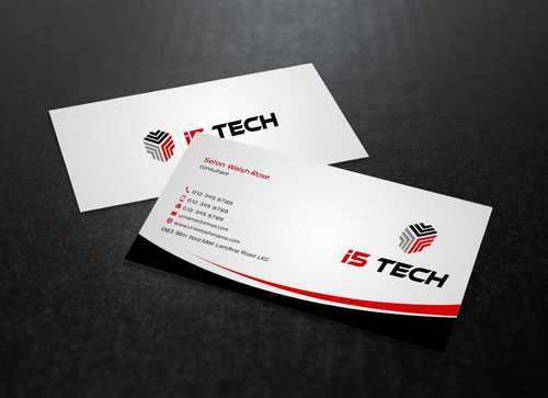 i5 TECH Business Cards and Stationery Business Cards and Stationery  Draft # 146 by Dawson