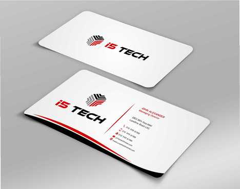 i5 TECH Business Cards and Stationery Business Cards and Stationery  Draft # 157 by Dawson