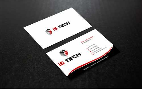 i5 TECH Business Cards and Stationery Business Cards and Stationery  Draft # 159 by Dawson