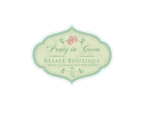 Pretty In Green Resale Boutique Marketing collateral  Draft # 97 by JoseLuiz