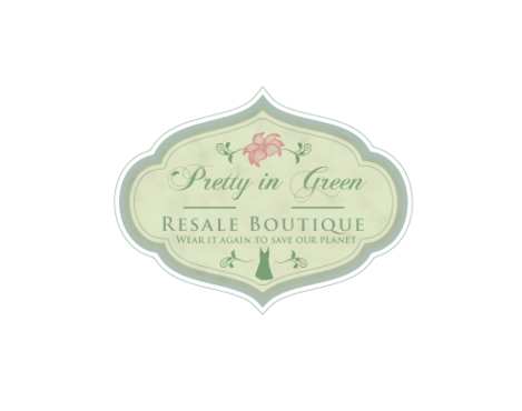 Pretty In Green Resale Boutique Marketing collateral  Draft # 101 by JoseLuiz
