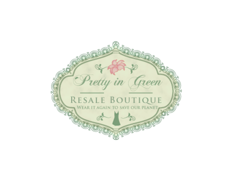 Pretty In Green Resale Boutique Marketing collateral  Draft # 104 by JoseLuiz