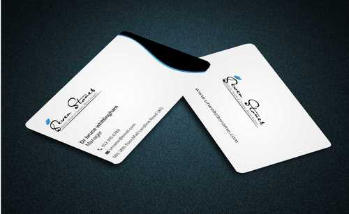 Seven Stones Holistic Health & Dynamic Blood Analysis Business Cards and Stationery  Draft # 109 by Dawson