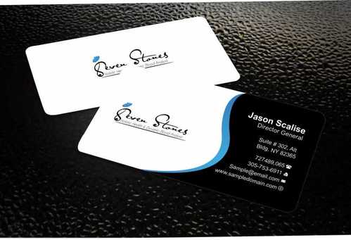 Seven Stones Holistic Health & Dynamic Blood Analysis Business Cards and Stationery  Draft # 110 by Dawson