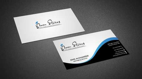 Seven Stones Holistic Health & Dynamic Blood Analysis Business Cards and Stationery  Draft # 111 by Dawson