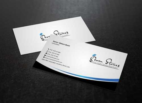 Seven Stones Holistic Health & Dynamic Blood Analysis Business Cards and Stationery  Draft # 117 by Dawson