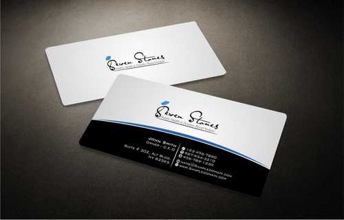 Seven Stones Holistic Health & Dynamic Blood Analysis Business Cards and Stationery  Draft # 118 by Dawson