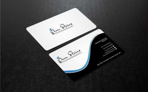 Seven Stones Holistic Health & Dynamic Blood Analysis Business Cards and Stationery  Draft # 128 by Dawson