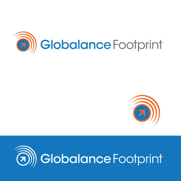 Globalance Footprint A Logo, Monogram, or Icon  Draft # 5 by BRNDLtd