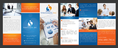 Strategists, inc. marketing collateral