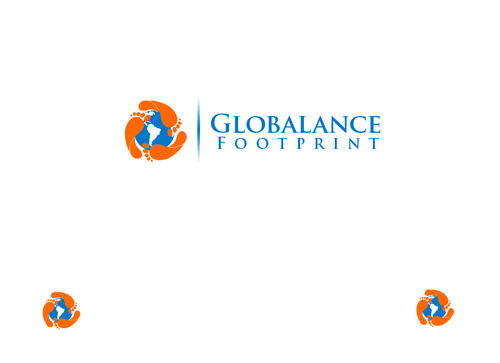 Globalance Footprint A Logo, Monogram, or Icon  Draft # 16 by liryckane