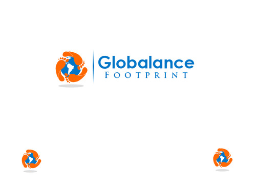 Globalance Footprint A Logo, Monogram, or Icon  Draft # 17 by liryckane