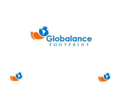 Globalance Footprint A Logo, Monogram, or Icon  Draft # 18 by liryckane