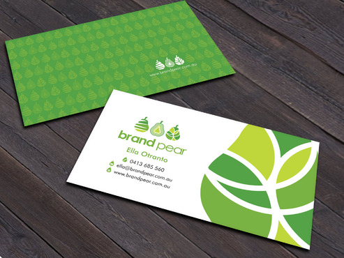 Brand Pear Business Cards and Stationery  Draft # 149 by Xpert