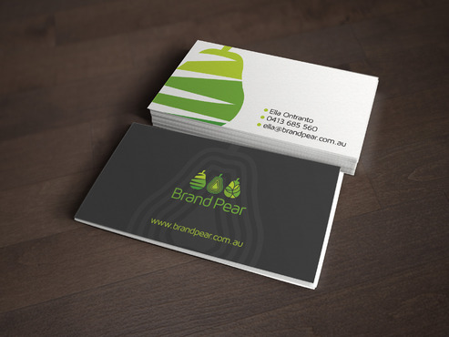 Brand Pear Business Cards and Stationery  Draft # 211 by mdsgrafix