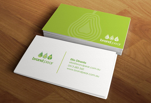 Brand Pear Business Cards and Stationery  Draft # 212 by mdsgrafix