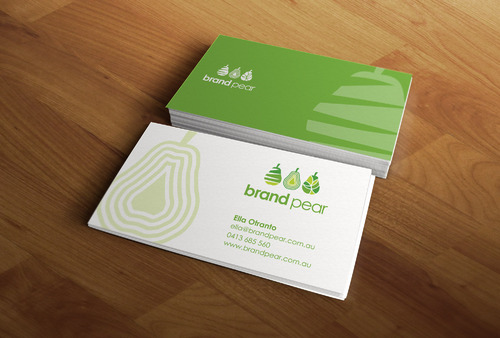 Brand Pear Business Cards and Stationery  Draft # 213 by mdsgrafix