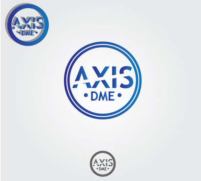 AxisDME A Logo, Monogram, or Icon  Draft # 49 by zoeyartt