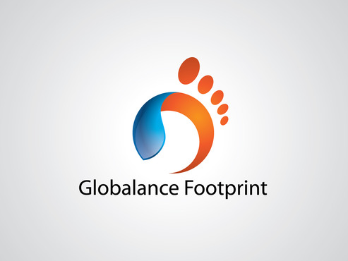 Globalance Footprint A Logo, Monogram, or Icon  Draft # 42 by dimzsa
