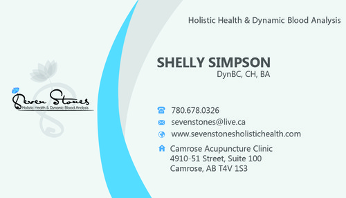 Seven Stones Holistic Health & Dynamic Blood Analysis Business Cards and Stationery  Draft # 167 by hasan110